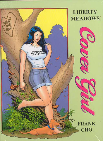 LIBERTY MEADOWS COVER GIRL HC - Cyber City Comix