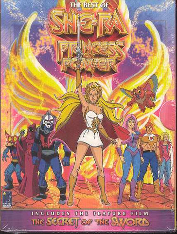 Best of She-Ra Princess of Power DVD - Cyber City Comix