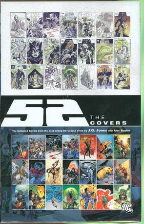 52: The Covers Hardcover - Cyber City Comix