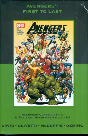 Avengers - First to Last Premier Hardcover (Direct Market cover) - Cyber City Comix
