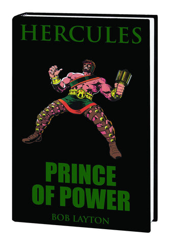 Hercules - Prince of Power Premier Hardcover - Cyber City Comix