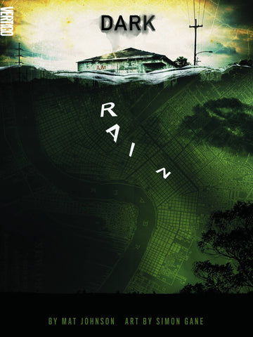 Dark Rain - A New Orleans Story Hardcover - Cyber City Comix
