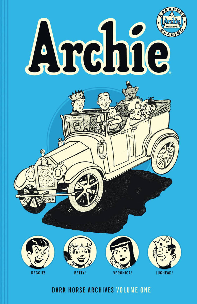 Archie - Archives Hardcover Vol 1 - Cyber City Comix