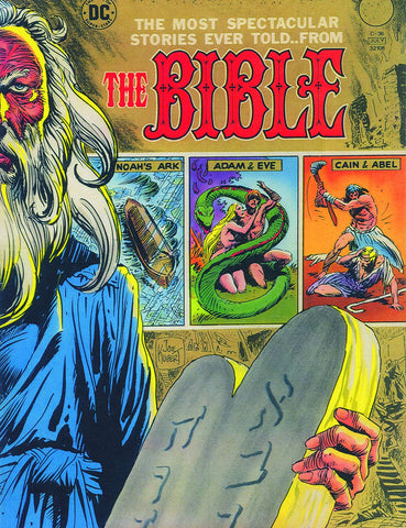 THE BIBLE JOE KUBERT HC - Cyber City Comix
