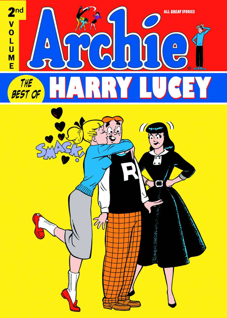 Archie - Best of Harry Lucey Vol 2 Hardcover - Cyber City Comix
