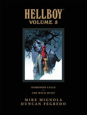 HELLBOY LIBRARY HC VOL 05 DARKNESS CALLS WILD HUNT - Cyber City Comix