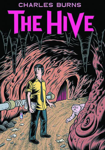 CHARLES BURNS HIVE HC - Cyber City Comix