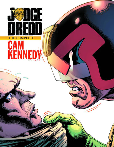 JUDGE DREDD CAM KENNEDY COLLECTION HC VOL 01 - Cyber City Comix
