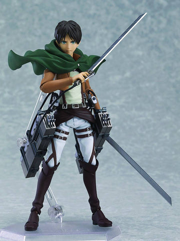 Attack on Titan Eren Yeager Figma - Cyber City Comix