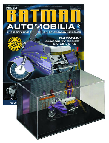 Batman Automobilia Collection - #33 Classic TV Batgirl Bike - Cyber City Comix