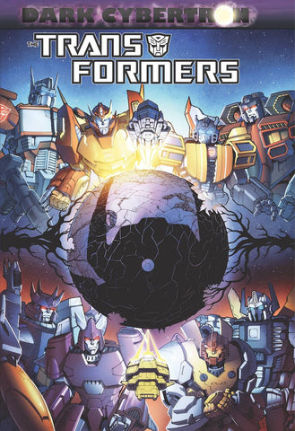TRANSFORMERS DARK CYBERTRON HC - Cyber City Comix