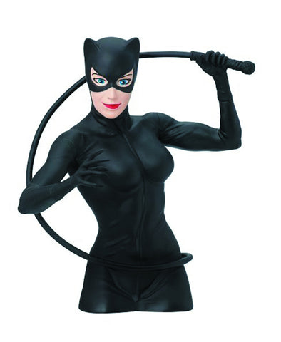 DC Catwoman Bust Bank - Cyber City Comix