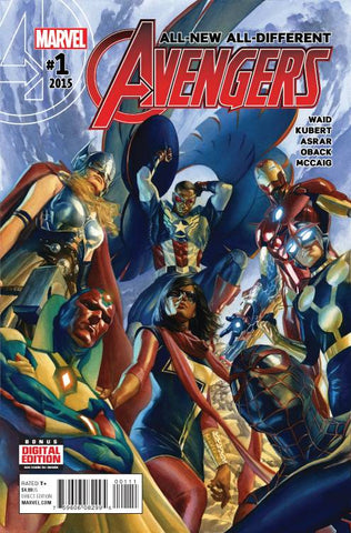 All-New All-Different Avengers #1-5