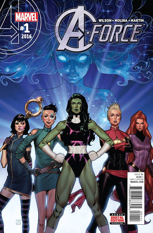 A-Force #1-6