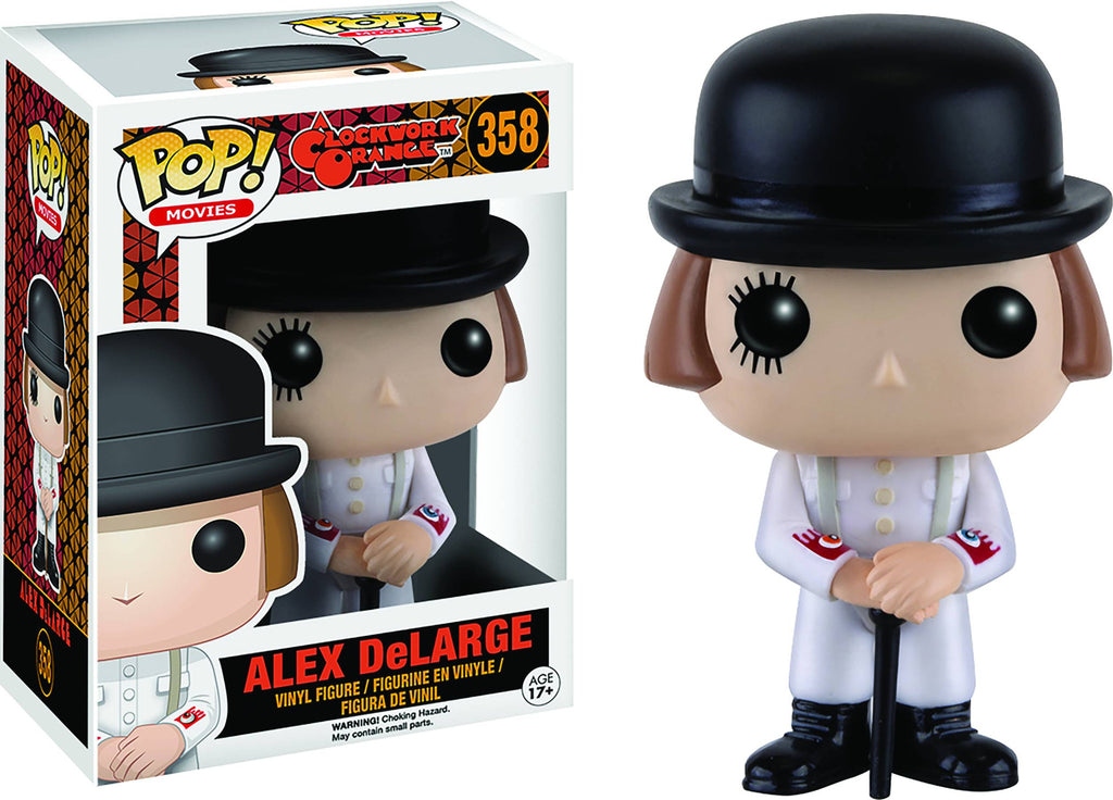 A Clockwork Orange - Alex Delarge - Cyber City Comix