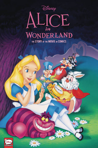 Disney Alice in Wonderland: Story of the Movie in Comics Hc