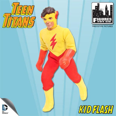 DC Teen Titans Retro - Kid Flash - Cyber City Comix
