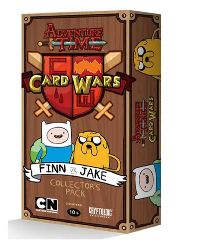 Adventure Time Card Wars Pack: Finn vs Jake - Cyber City Comix