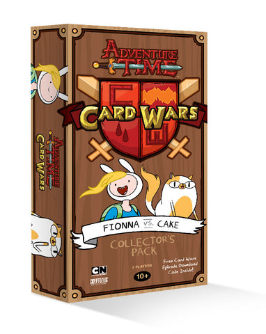 Adventure Time Card Wars Pack: Fionna vs Cake - Cyber City Comix