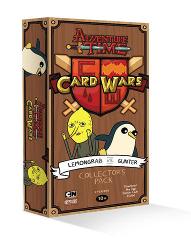 Adventure Time Card Wars: Lemongrab vs Gunter - Cyber City Comix