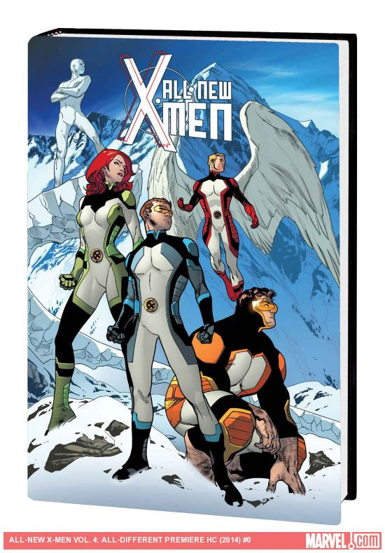 All New X-Men Volume 4: All-Different HC - Cyber City Comix