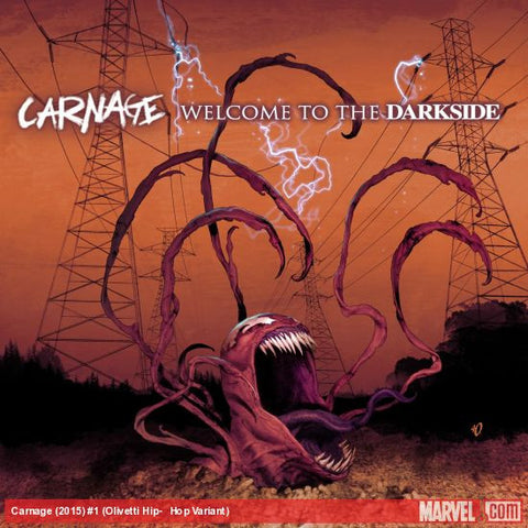 Carnage #1 Ariel Olivetti Hip Hop Variant - Cyber City Comix
