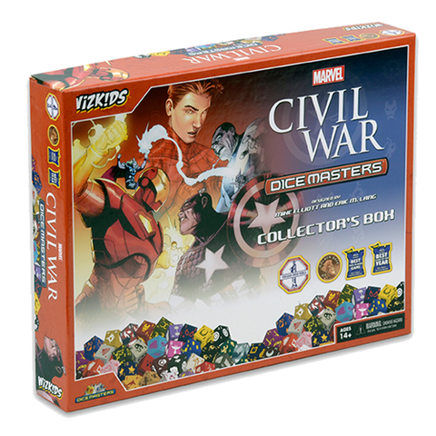 Marvel Civil War Dice Masters Collector's Box - Cyber City Comix