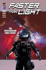 Faster than Light #1-4 - Cyber City Comix