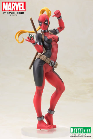 Marvel Bishoujo - Lady Deadpool statue - Cyber City Comix