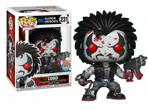 DC Heroes - Lobo PX Exclusive Bloody Version