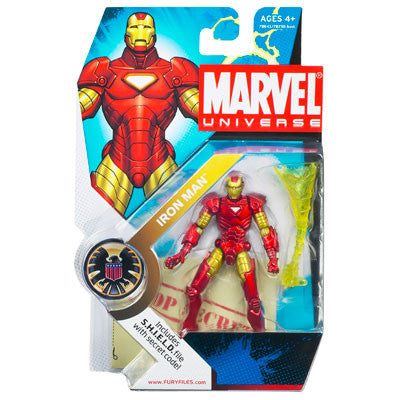 Marvel Universe - Iron Man Figure - Cyber City Comix