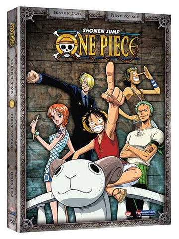 One Piece - Season Two: First Voyage DVD - Cyber City Comix