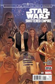 Star Wars Shattered Empire #1-4 - Cyber City Comix