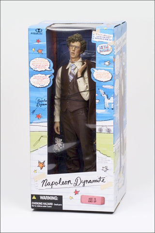 "Napoleon Dynamite 12"" Talking Figure - Cyber City Comix"