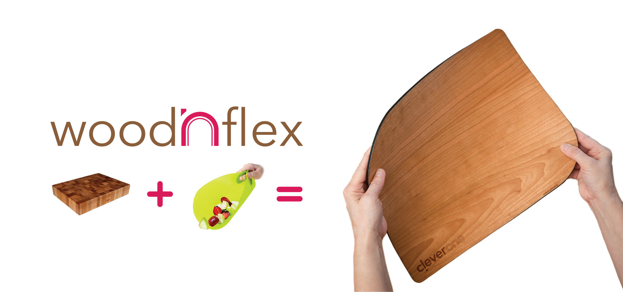 woodNflex combines the luxury of a real wood cutting board with the flexibility of a plastic sheet.