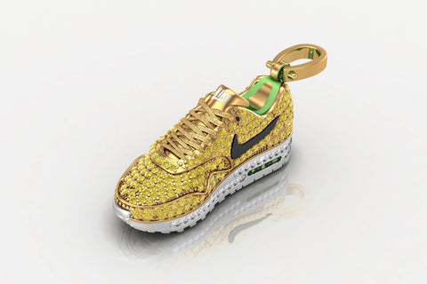 Nike Air Max Pendant 18K Yellow Gold
