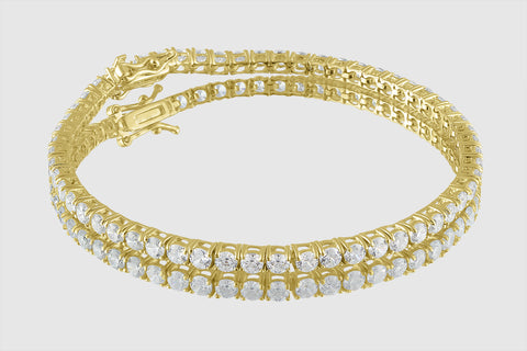 2.5mm 6 pointers Diamond Tennis Bracelet