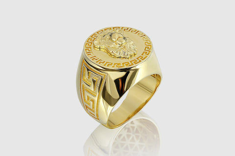 Versace Lion Ring