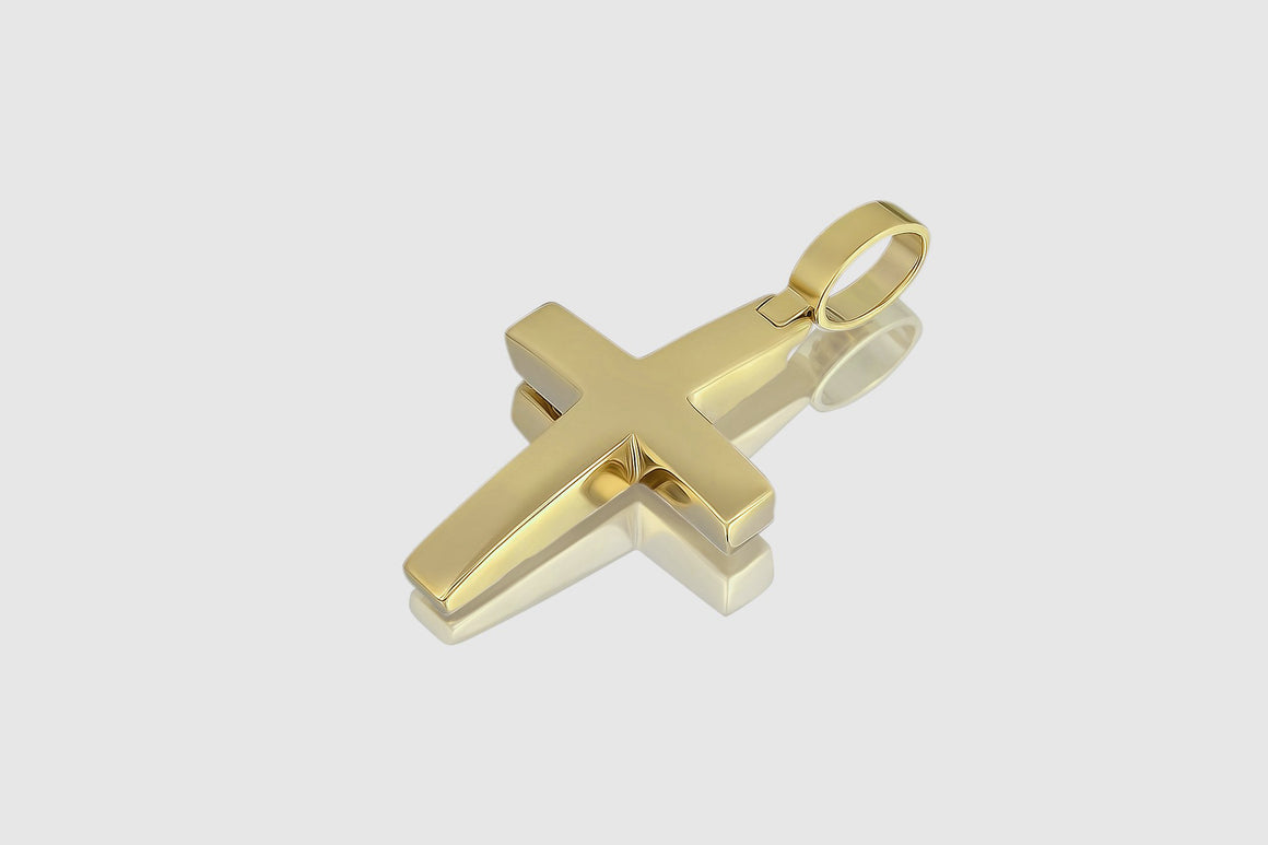 Cross Pendant Yellow Gold