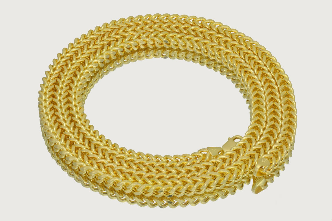 Franco Chain 14K Yellow Gold