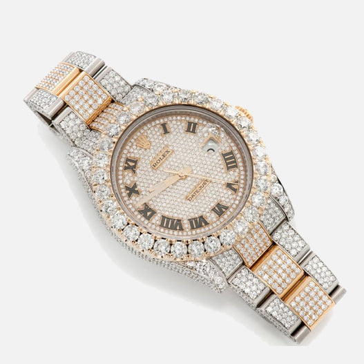 Rolex Datejust II Two-Tone Diamond 25ct. Iced Out