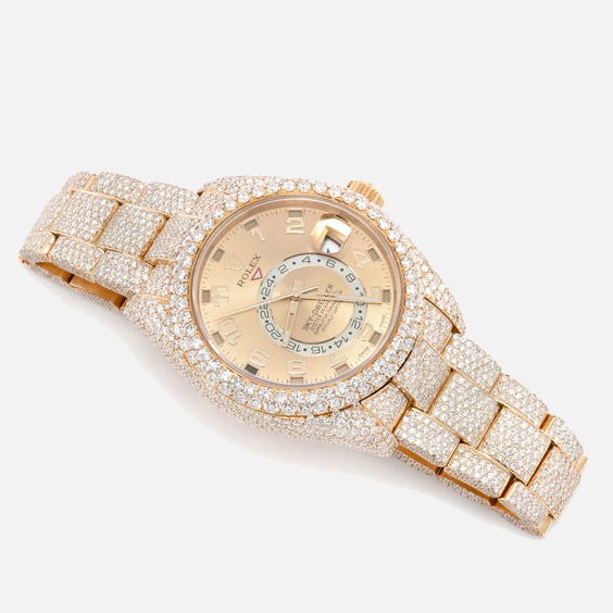 Rolex Sky-Dweller Iced Out