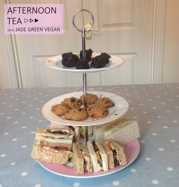VEGAN AFTERNOON TEA RECIPE