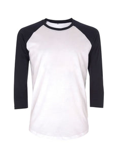 Fair Wear Organic Navy & White Baseball Tee