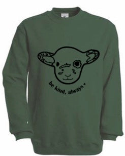 BE KIND GREEN WILLOW Fair Wear Sweater