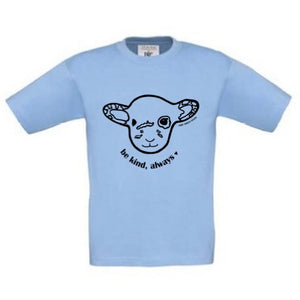 BE KIND WILLOW Blue Kids Tee