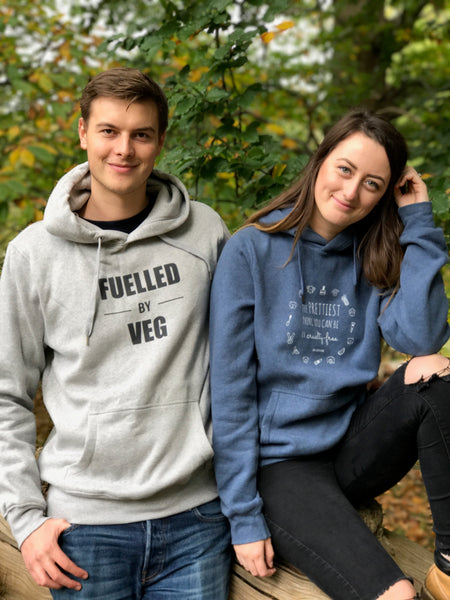 FUELLED BY VEG Fair Wear Unisex Hoodie