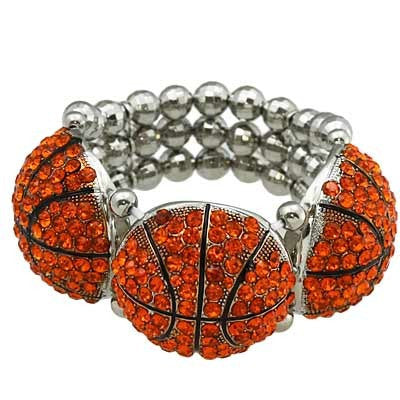 "*[B/L]-Basketball Bling Statement Bracelet - jewelz by julz...""The Collection!"""