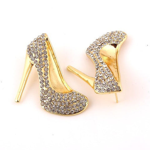"[E/R]-Rhinestone Stiletto Post Statement Earrings* - jewelz by julz...""The Collection!"""