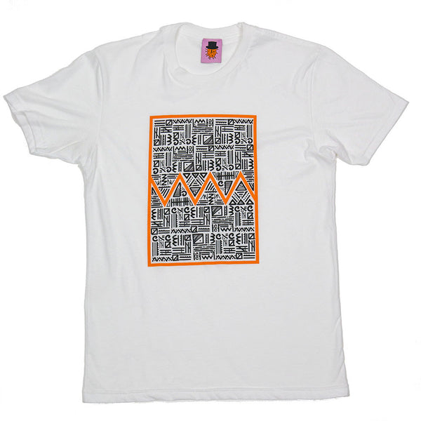 Tribute to Keith Haring - White